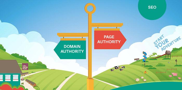 Domain dan Page Authority